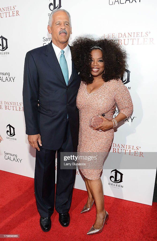<a gi-track='captionPersonalityLinkClicked' href=/galleries/search?phrase=Stedman+Graham&family=editorial&specificpeople=768636 ng-click='$event.stopPropagation()'>Stedman Graham</a> and Oprah Winfre attend Lee Daniels' 'The Butler' New York Premiere, hosted by TWC, Samsung Galaxy and DeLeon Tequila on August 5, 2013 in New York City.