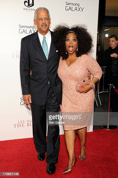 Stedman Graham and Oprah Winfrey attend Lee Daniels' 'The Butler' New York Premiere at Ziegfeld Theater on August 5 2013 in New York City