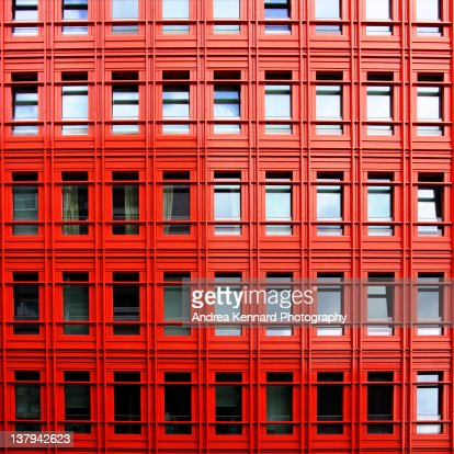 Steel and glass structures : Stock Photo