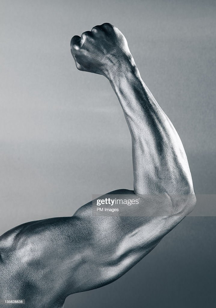 Steel Arm : Stock Photo
