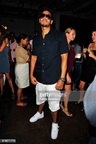 DJ Steel attend RUSSELL SIMMONS MACY'S celebrate RUSSELL SIMMONS ARGYLECULTURE FALL 2010 Menswear Presentation at Ampersand Studios on August 3rd...