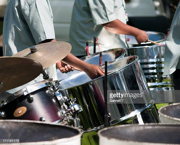 Groupe de percussionnistes