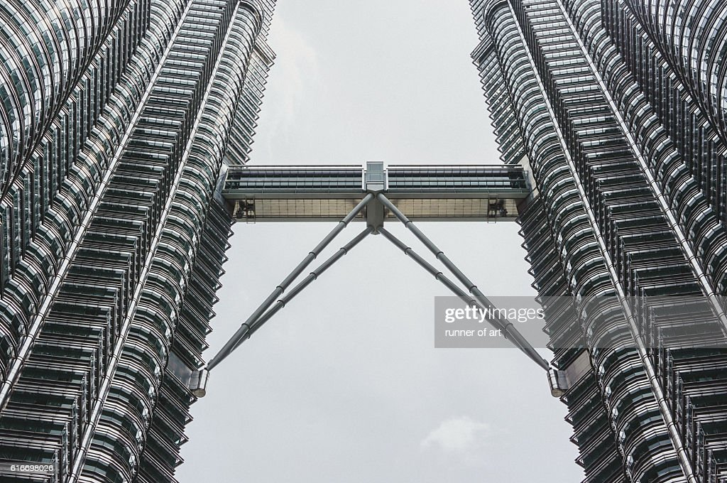 Steel building : Stock Photo