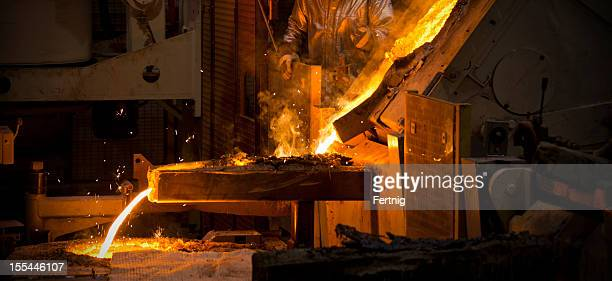 Steel, casting foundry