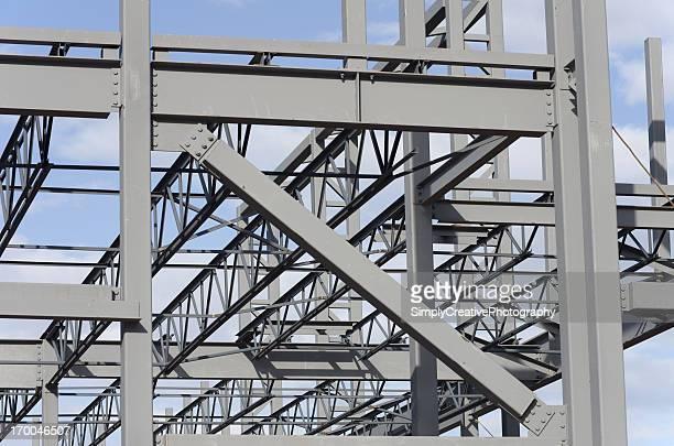 Steel Construction Background