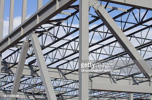 Construction en acier de fond