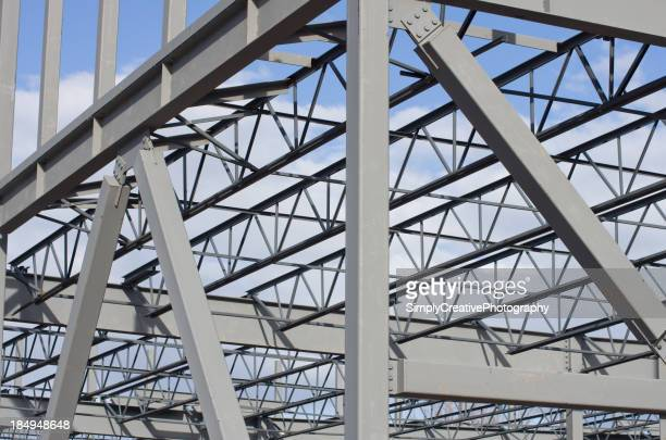 Steel Construction Background