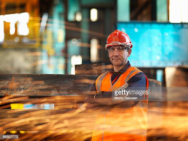 Steel Engineer With Sparks