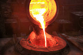 A foundry is a factory that produces metal castings. Metal are cast into shapes by melting them into a liquid, pouring the metal in a mold and removing the mold material or casting after the metal has