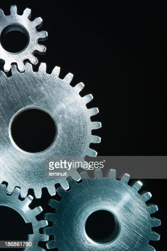 Steel Gears background