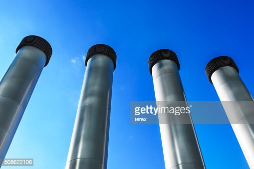 steel pipes : Stock Photo