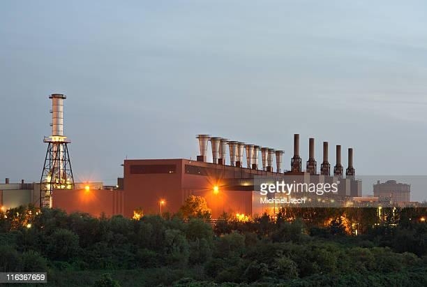 Steel Plant am Abend