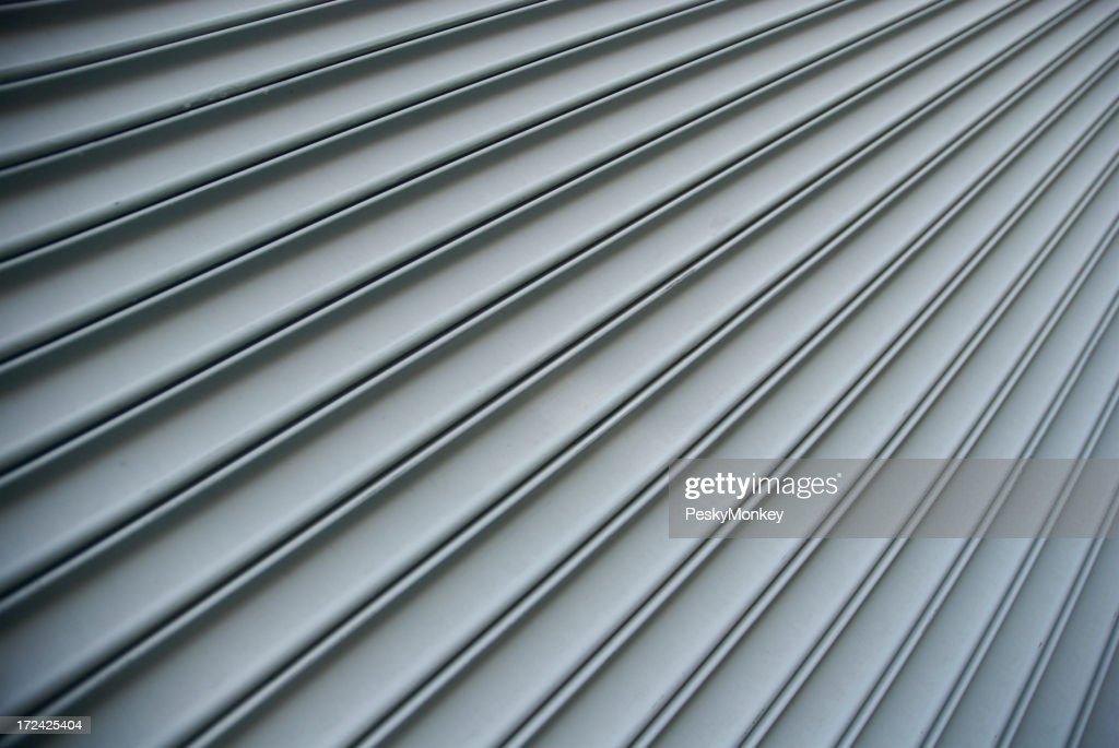 Steel Shutter Lines Background