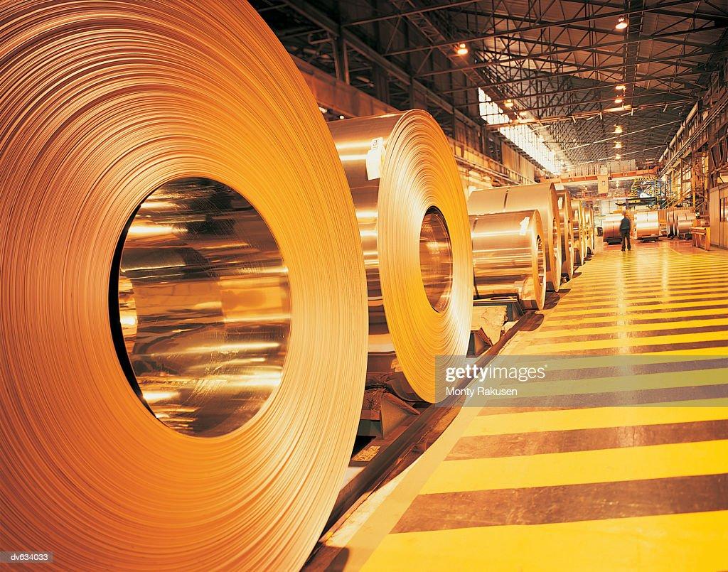Steelworks : Stock Photo