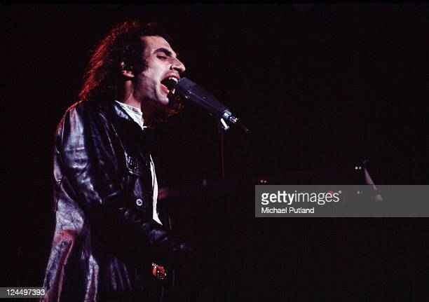 Steely Dan perform on stage Rainbow Theatre London 21st May 1974 Donald Fagen