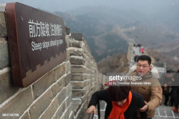 Steep Slope In Great Wall