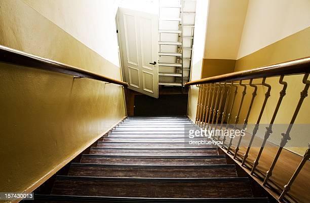 Abrupt escalier