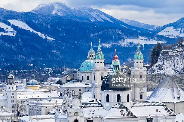 Steeples und die Kuppeln Salzburg