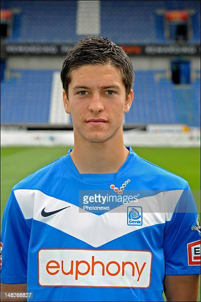 Stef Peeters during the KRC Genk official team picture for the new season 2012 2013 Jupiler Pro League at the Cristal Arena on July 8 2012 in Genk...