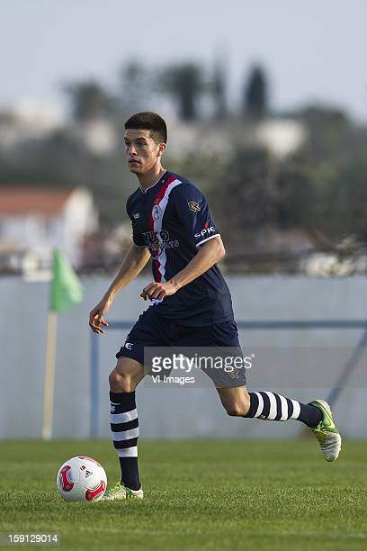 Stef Peeters of Sparta during the friendly match between Sparta Rotterdam and TSV Hoffenheim 1899 on January 8 2013 at Moncarapacho Portugal