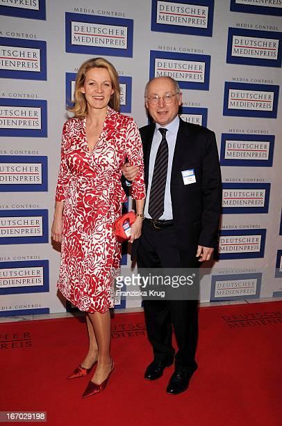 Stefan Aust Und Ehefrau Katrin Bei Der Verleihung Des 'Deutschen Medienpreis' Im Kongresshaus In BadenBaden