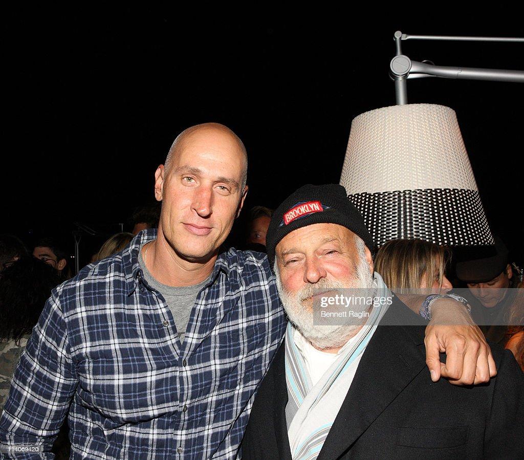 Stefan Beckman and Bruce Weber attend Dedon Celebrates New York Hosted By Bruce Weber And Bobby Dekesyer at Nouvel Chelsea on September 15, 2010 in New York City.