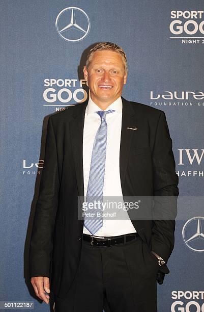 Stefan Blöcher 1 'Laureus Sport for Good Night'Wochenende 'Neue Kleine Olympiahalle' München Bayern Deutschland Europa Benefiz Benefizgala...