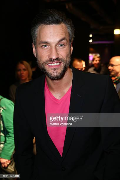 Stefan Bockelmann attends the Dirty Dancing Musical Premiere at Capitol Theater on January 25 2015 in Duesseldorf Germany