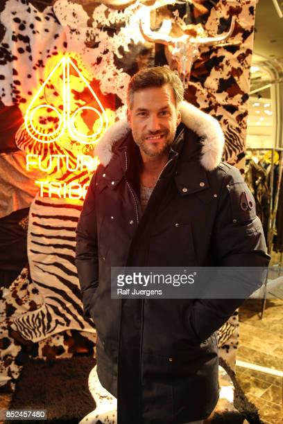 Stefan Bockelmann poses during the store event 'Moose Knuckles at Breuninger The Future Tribe Party' on September 23 2017 in Duesseldorf Germany