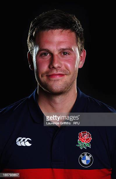 Stefan Curtis of England poses for a portrait at the England Under 20 squad photo call at St Georges Park on September 19 2012 in Burton Upon Trent...