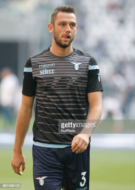 Stefan de Vrij during Serie A match between Juventus v Lazio in Turin on october 14 2017
