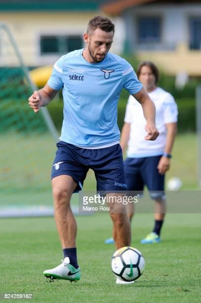 Stefan De Vrij of SS Lazio during the SS Lazio Training Camp on July 29 2017 in Walchsee Austria