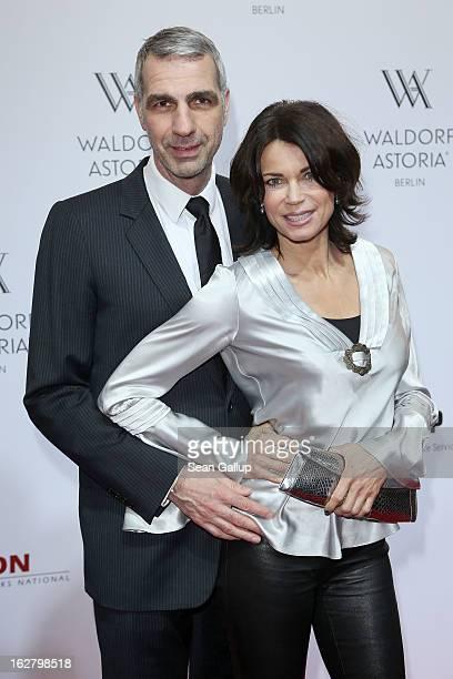 Stefan Henning and Gerit Kling attends 'Waldorf Astoria Berlin Grand Opening' at Waldorf Astoria Berlin on February 27 2013 in Berlin Germany
