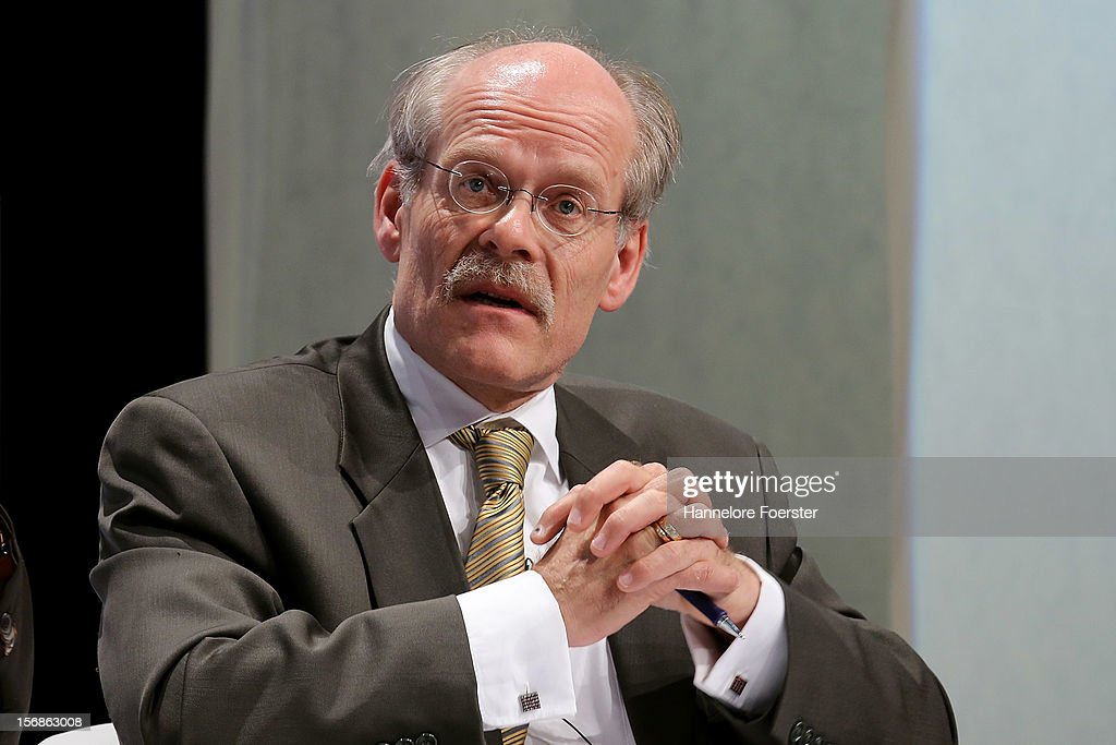 Stefan Ingves, chairman of the executive board, Sveriges Riksbank, attend the European Banking Congress on November 23, 2012 in Frankfurt, Germany. Bankers from across Europe are meeting as Europe continues to struggle with weak economies in the Eurozone and governmens remain locked in disagreement over the European Union 2013 budget.