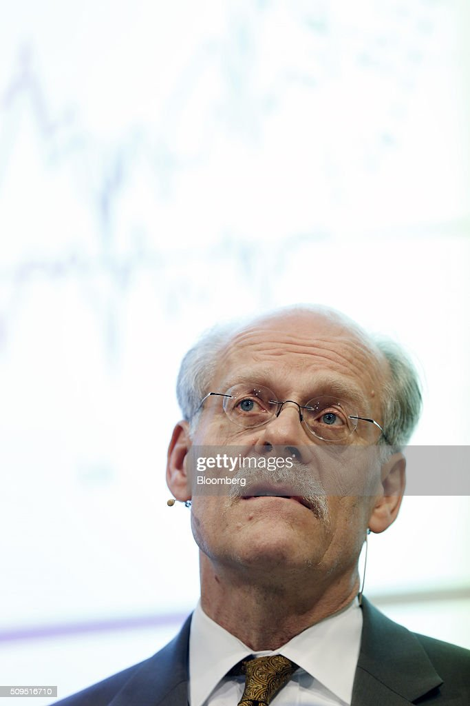 Stefan Ingves, governor of Sweden's central bank, also known as the Riksbank, speaks during a news conference to announce interest rates at the bank's headquarters in Stockholm, Sweden, on Thursday, Feb. 11, 2016. Sweden's central bank lowered its key interest rate even further below zero and said its prepared to use its full toolbox of measures as it battles to revive inflation and keep the krona from appreciating. Photographer: Johan Jeppsson/Bloomberg via Getty Images