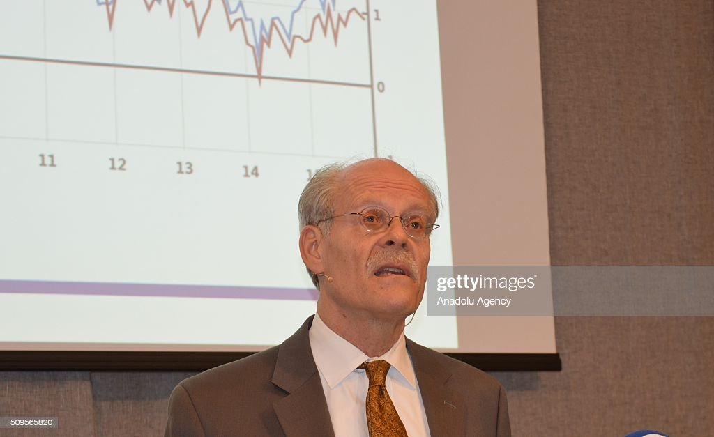 Stefan Ingves, Governor of the Central Bank of Sweden, speaks during a media conference at the bank headquarters in Stockholm, Sweden, on February 11, 2016. Sweden's central bank said, it will cut its key interest rate to a record low of minus 0.50 percent.