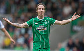Stefan Johansen of Celtic at the Pre Season Friendly between Celtic and Real Sociedad at St Mirren Park on July 10th 2015 in Paisley Scotland