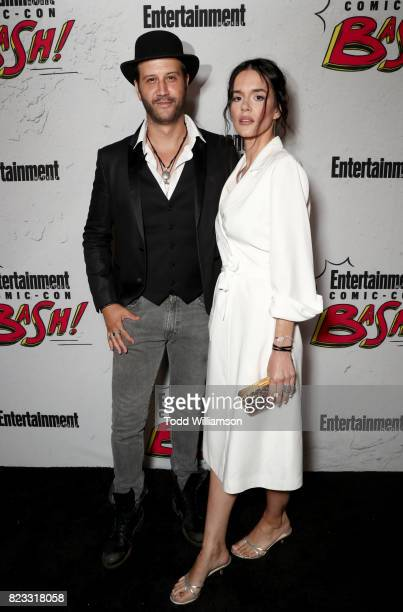 Stefan Kapicic and Ivana Horvat at Entertainment Weekly's annual ComicCon party in celebration of ComicCon 2017 at Float at Hard Rock Hotel San Diego...