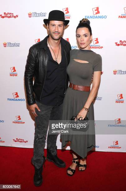 Stefan Kapicic and Ivana Horvat attend ComicCon International 2017 Fandango Opening Night Party With Special Performance By Elle King Arrivals at San...