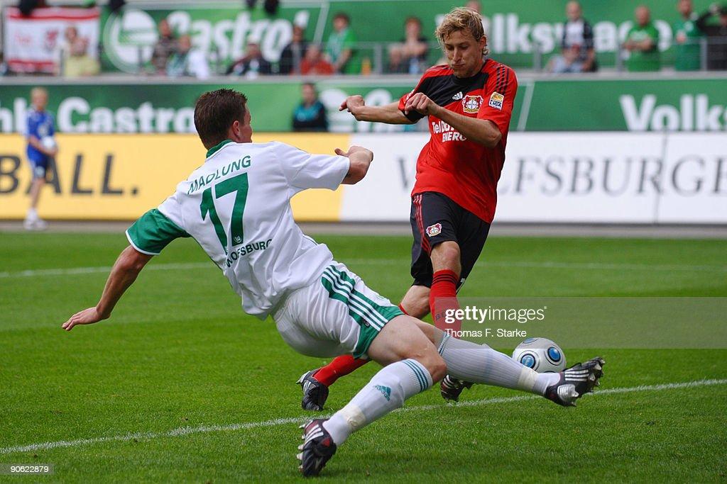 VfL Wolfsburg v Bayer Leverkusen - Bundesliga