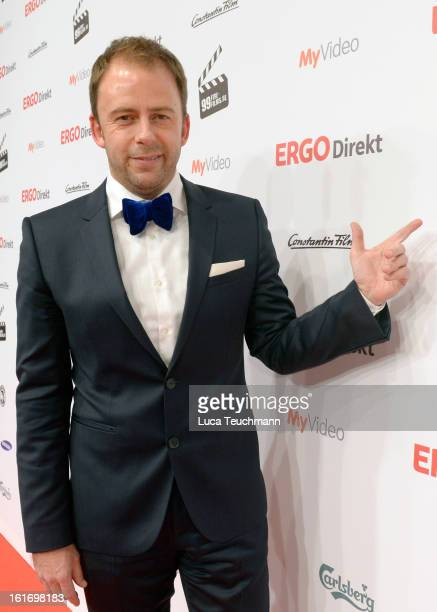 Stefan Kiwit attends the 5th '99FireFilmsAward' Red Carpet Arrivals at Admiralspalast on February 14 2013 in Berlin Germany
