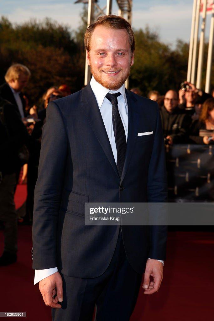 Stefan Konarske attends the Deutscher Fernsehpreis 2013 - Red Carpet Arrivals at Coloneum on October 02, 2013 in Cologne, Germany.