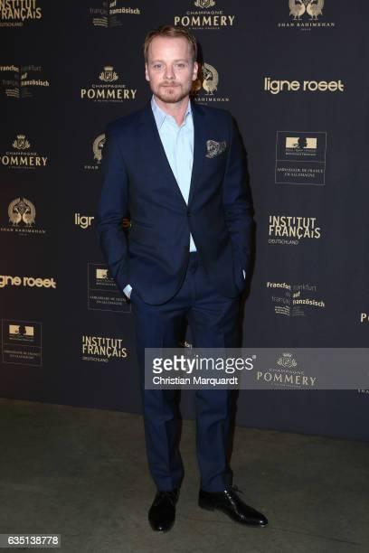 Stefan Konarske attends the 'Soiree Francaise Du Cinema' during the 67th Berlinale International Film Festival Berlin at on February 13 2017 in...
