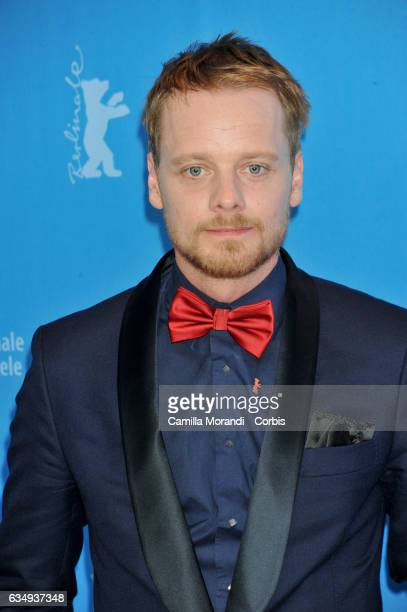 Stefan Konarske attends the 'The young Karl Marx ' Photo Call during the 67th Berlinale International Film Festival Berlin at the Grand Hyatt Hotelon...