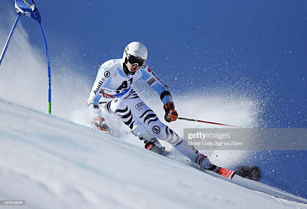 <a gi-track='captionPersonalityLinkClicked' href=/galleries/search?phrase=Stefan+Luitz&family=editorial&specificpeople=7286362 ng-click='$event.stopPropagation()'>Stefan Luitz</a> of Germany competes during the Audi FIS Alpine Ski World Cup Men's Giant Slalom on October 26, 2014 in Soelden, Austria.