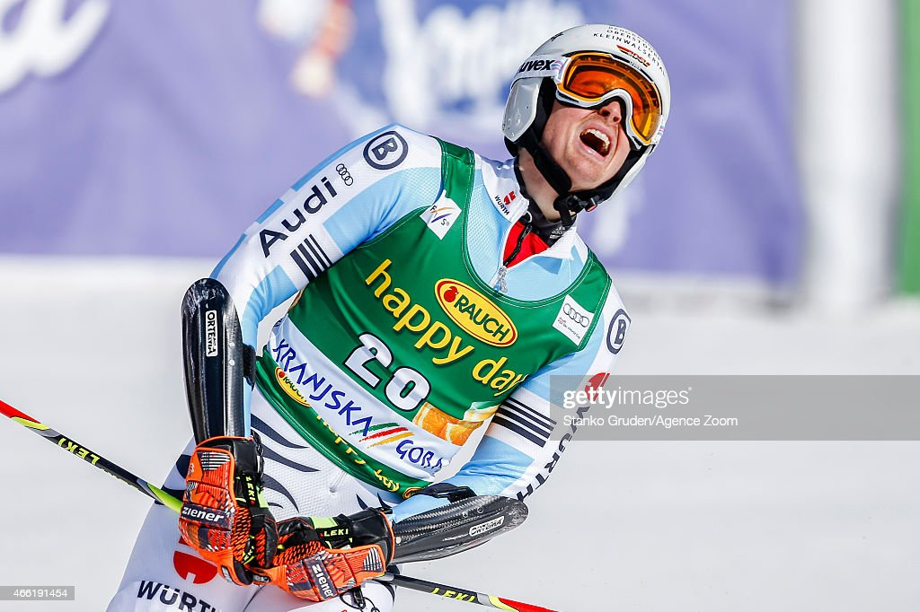 <a gi-track='captionPersonalityLinkClicked' href=/galleries/search?phrase=Stefan+Luitz&family=editorial&specificpeople=7286362 ng-click='$event.stopPropagation()'>Stefan Luitz</a> of Germany competes during the Audi FIS Alpine Ski World Cup Men's Giant Slalom on March 14, 2015 in Kranjska Gora, Slovenia.