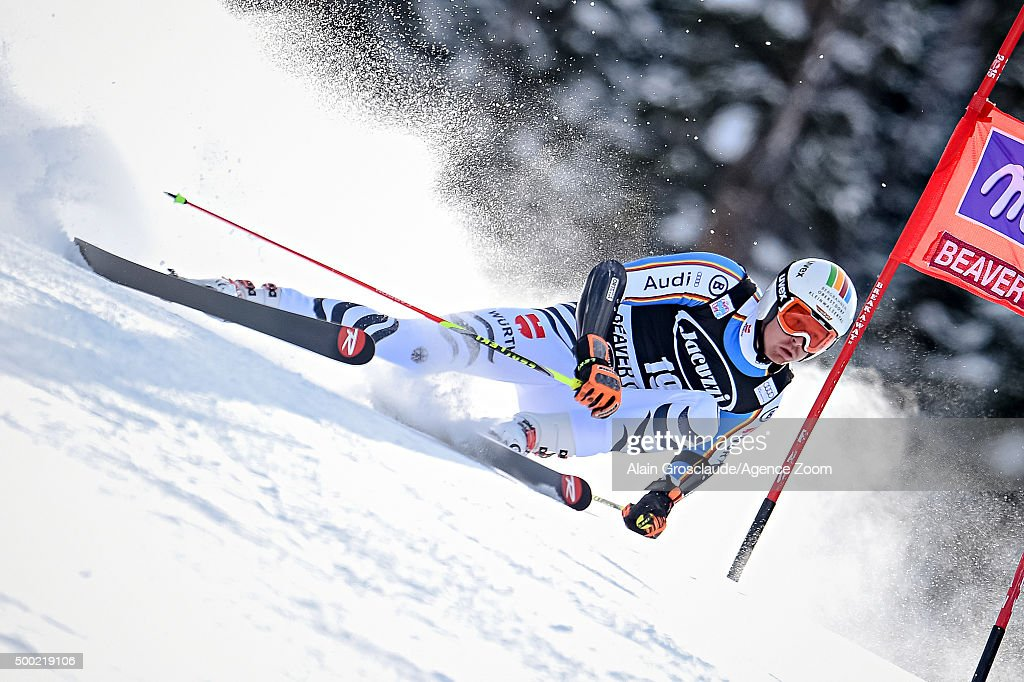 <a gi-track='captionPersonalityLinkClicked' href=/galleries/search?phrase=Stefan+Luitz&family=editorial&specificpeople=7286362 ng-click='$event.stopPropagation()'>Stefan Luitz</a> of Germany competes during the Audi FIS Alpine Ski World Cup Men's Giant Slalom on December 06, 2015 in Beaver Creek, Colorado.