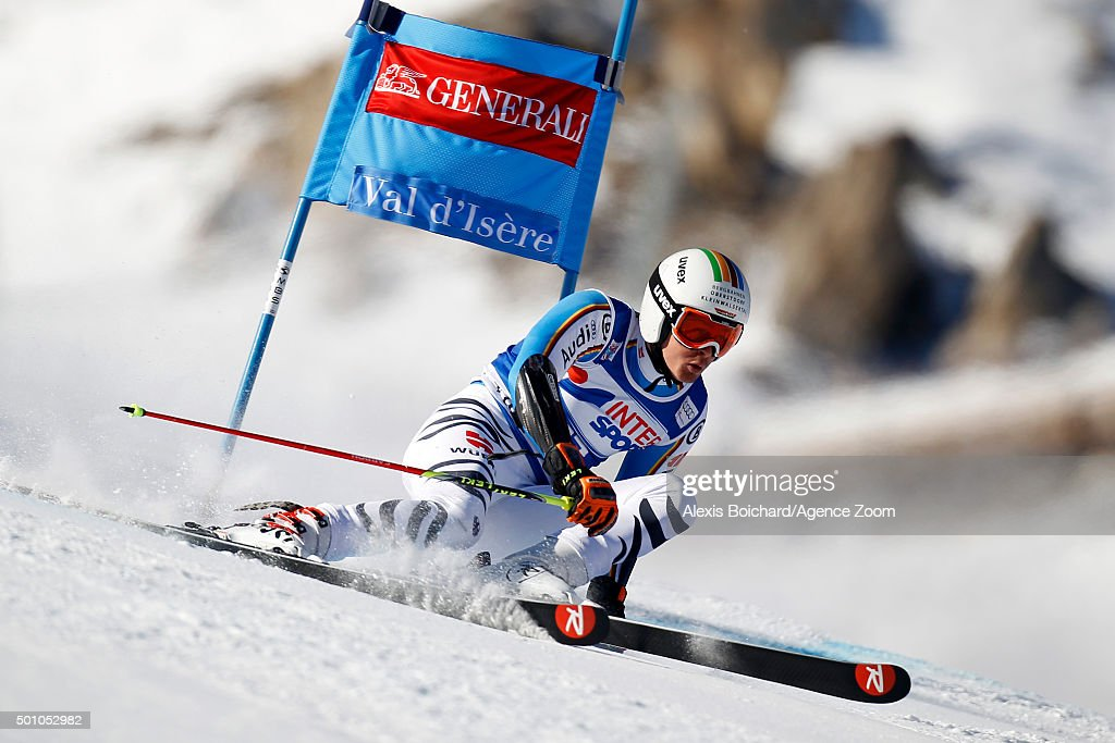 <a gi-track='captionPersonalityLinkClicked' href=/galleries/search?phrase=Stefan+Luitz&family=editorial&specificpeople=7286362 ng-click='$event.stopPropagation()'>Stefan Luitz</a> of Germany competes during the Audi FIS Alpine Ski World Cup Men's Giant Slalom on December 12, 2015 in Val d'Isere, France.