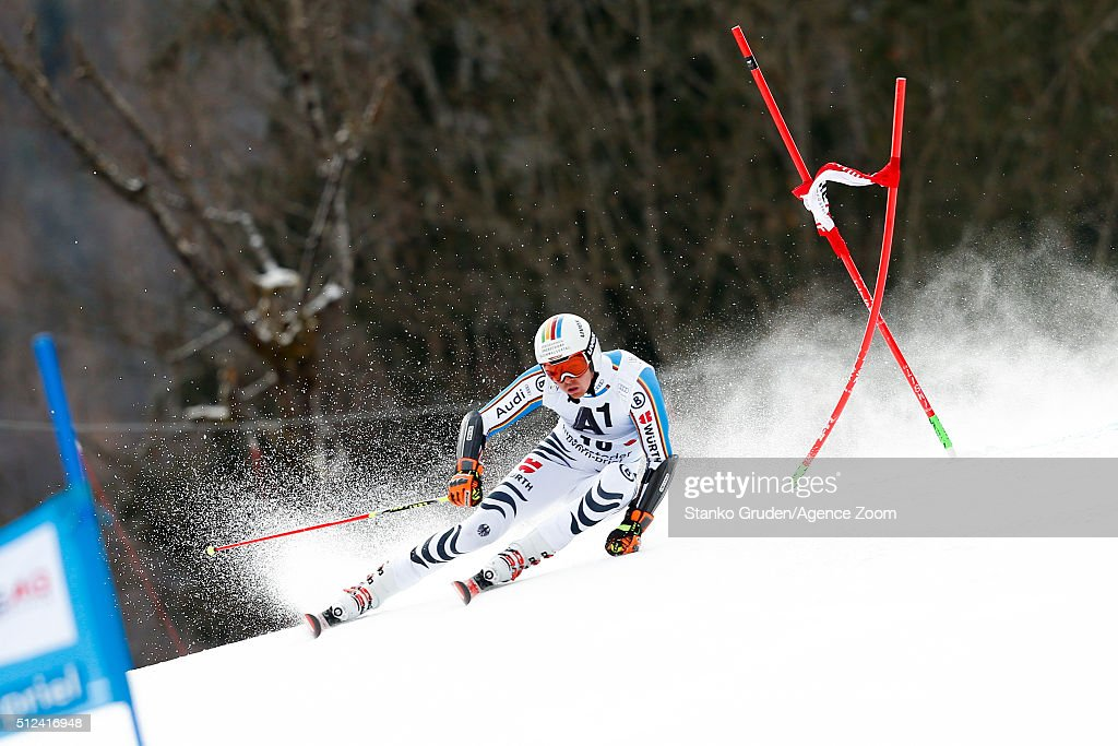 <a gi-track='captionPersonalityLinkClicked' href=/galleries/search?phrase=Stefan+Luitz&family=editorial&specificpeople=7286362 ng-click='$event.stopPropagation()'>Stefan Luitz</a> of Germany competes during the Audi FIS Alpine Ski World Cup Men's Giant Slalom on February 26, 2016 in Hinterstoder, Austria.