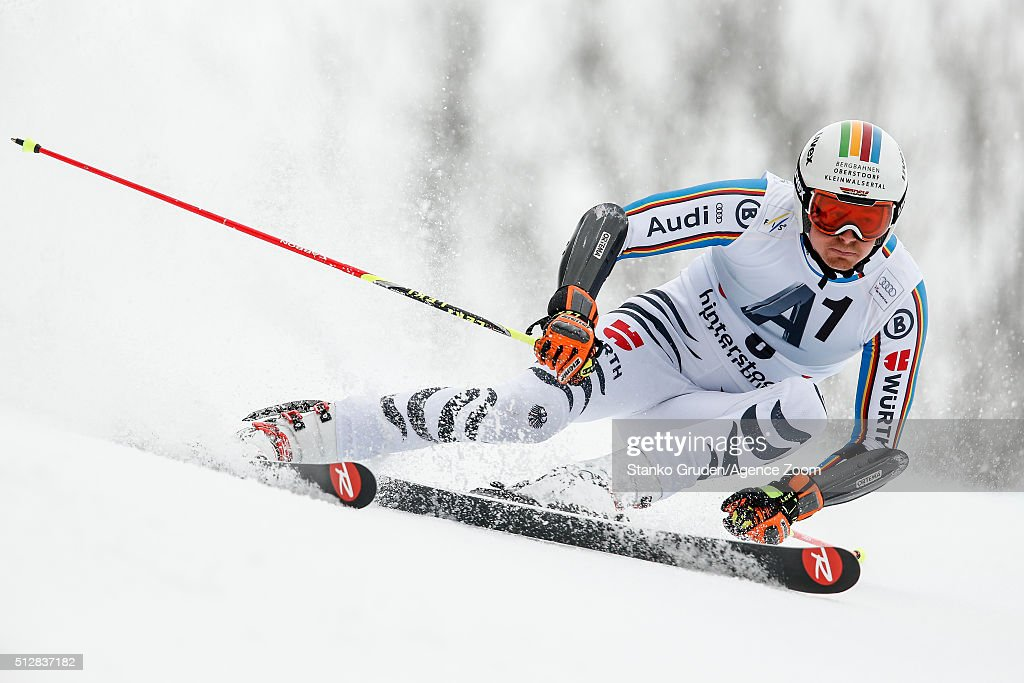 <a gi-track='captionPersonalityLinkClicked' href=/galleries/search?phrase=Stefan+Luitz&family=editorial&specificpeople=7286362 ng-click='$event.stopPropagation()'>Stefan Luitz</a> of Germany competes during the Audi FIS Alpine Ski World Cup Men's Giant Slalom on February 268, 2016 in Hinterstoder, Austria.